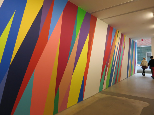 Odili Donald Odita at Jack Shainman Gallery