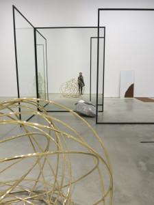 Alicja Kwade, installation view of 'Alicja Kwade,' at 303 Gallery, May 2016.