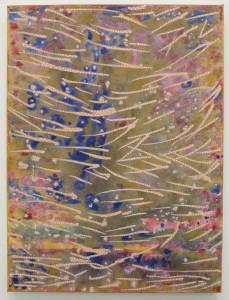 Nadia Haji Omar, Untitled, acrylic and dye on canvas, 24 x 18 inches, 2016.