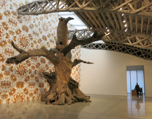 Ai Wei Wei, installation view of 'Roots and Branches' at Mary Boone Gallery's 541 West 26th Street location, November 2016.