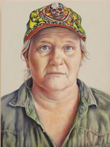 Jim Torok, Jennifer, oil on panel, 9 x 7 inches, 2015.